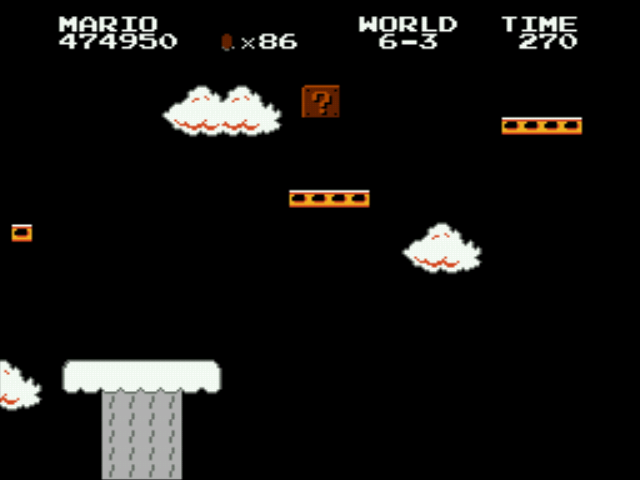 Super Mario Bros - Genesis - das bo sch!+! i slipped - User Screenshot